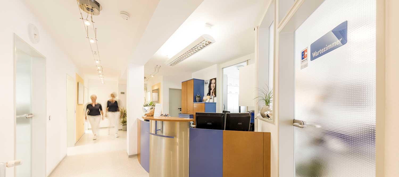 Zahnarzt Windeck - Hamood - der Empfang der Praxis
